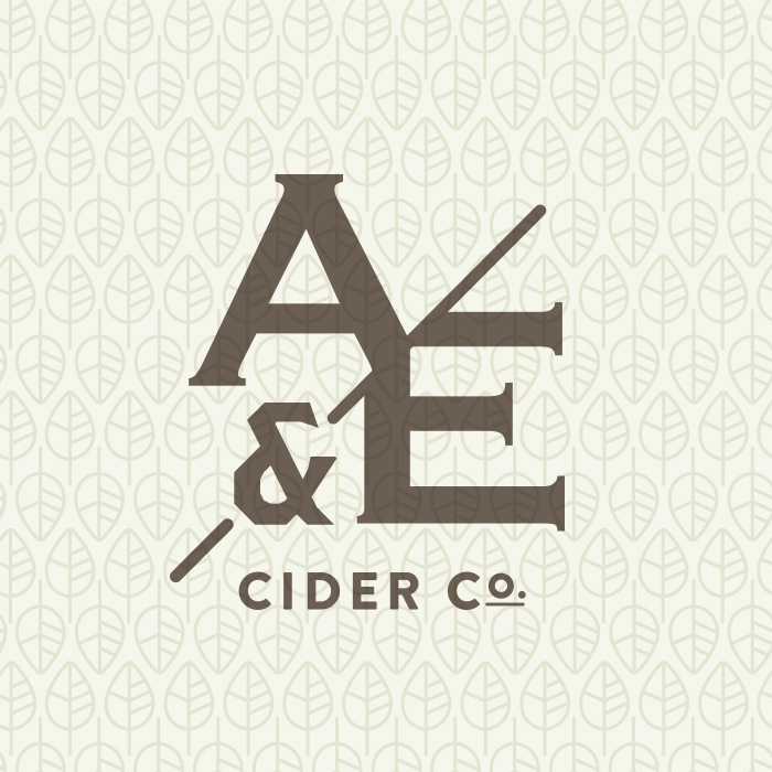 A&E Logo on Wallpaper