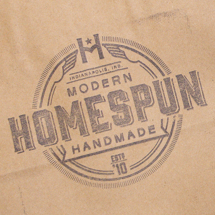 Homespun - Bag Stamp
