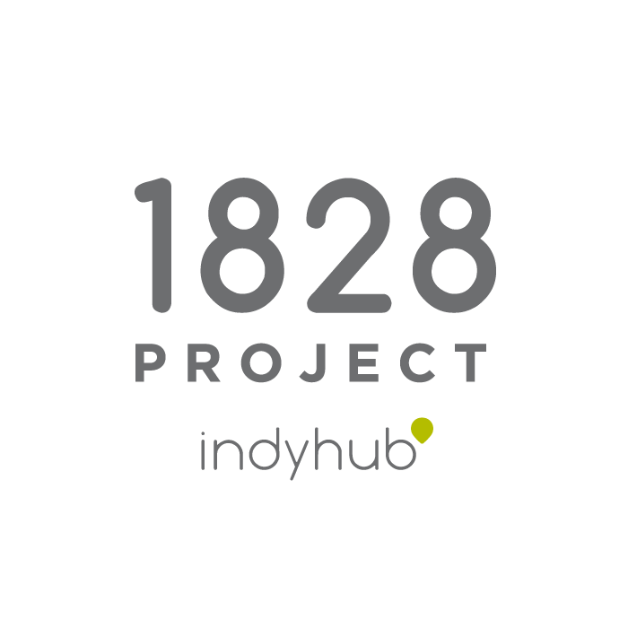IndyHub 1828 Project Logo
