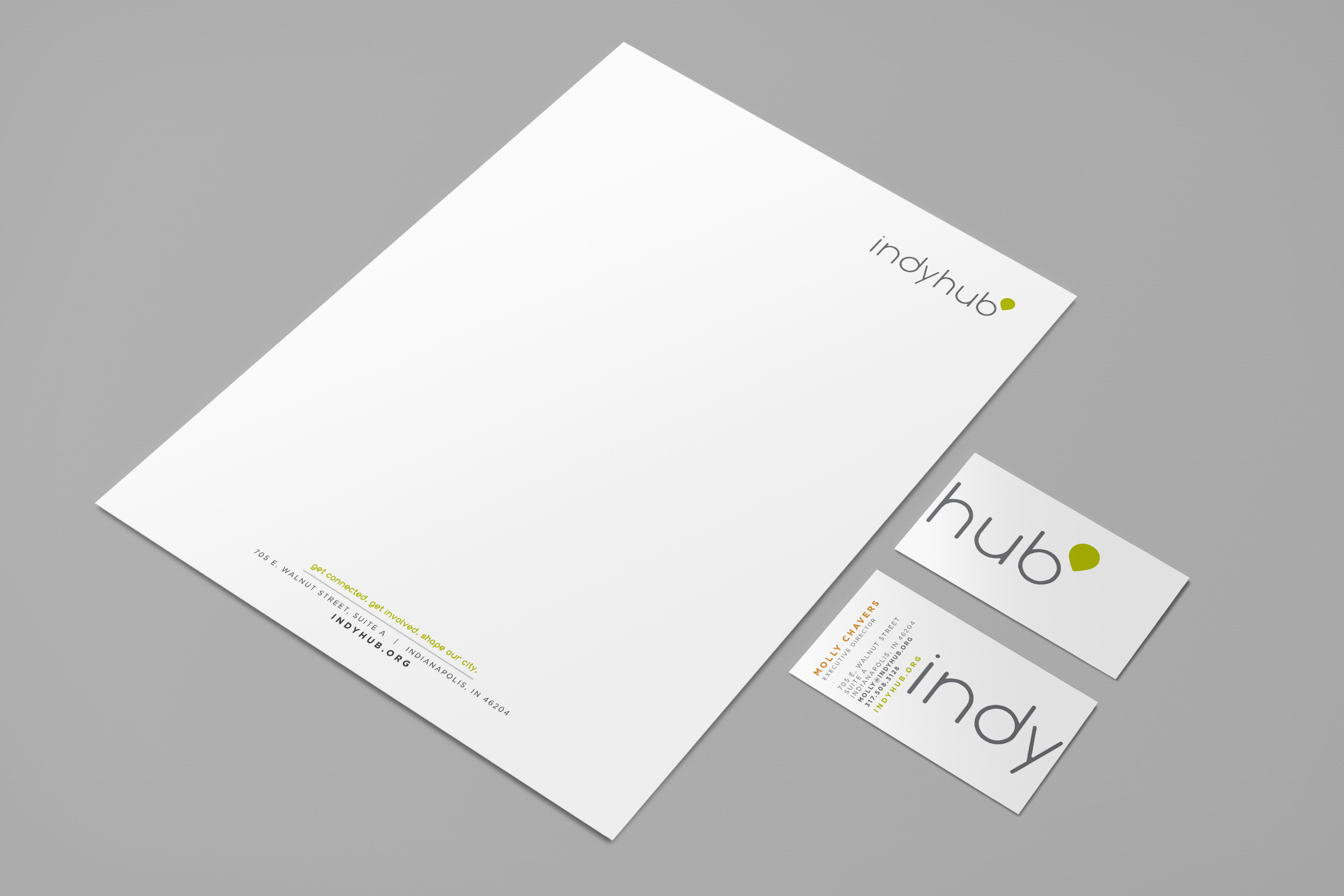 IndyHub Stationery