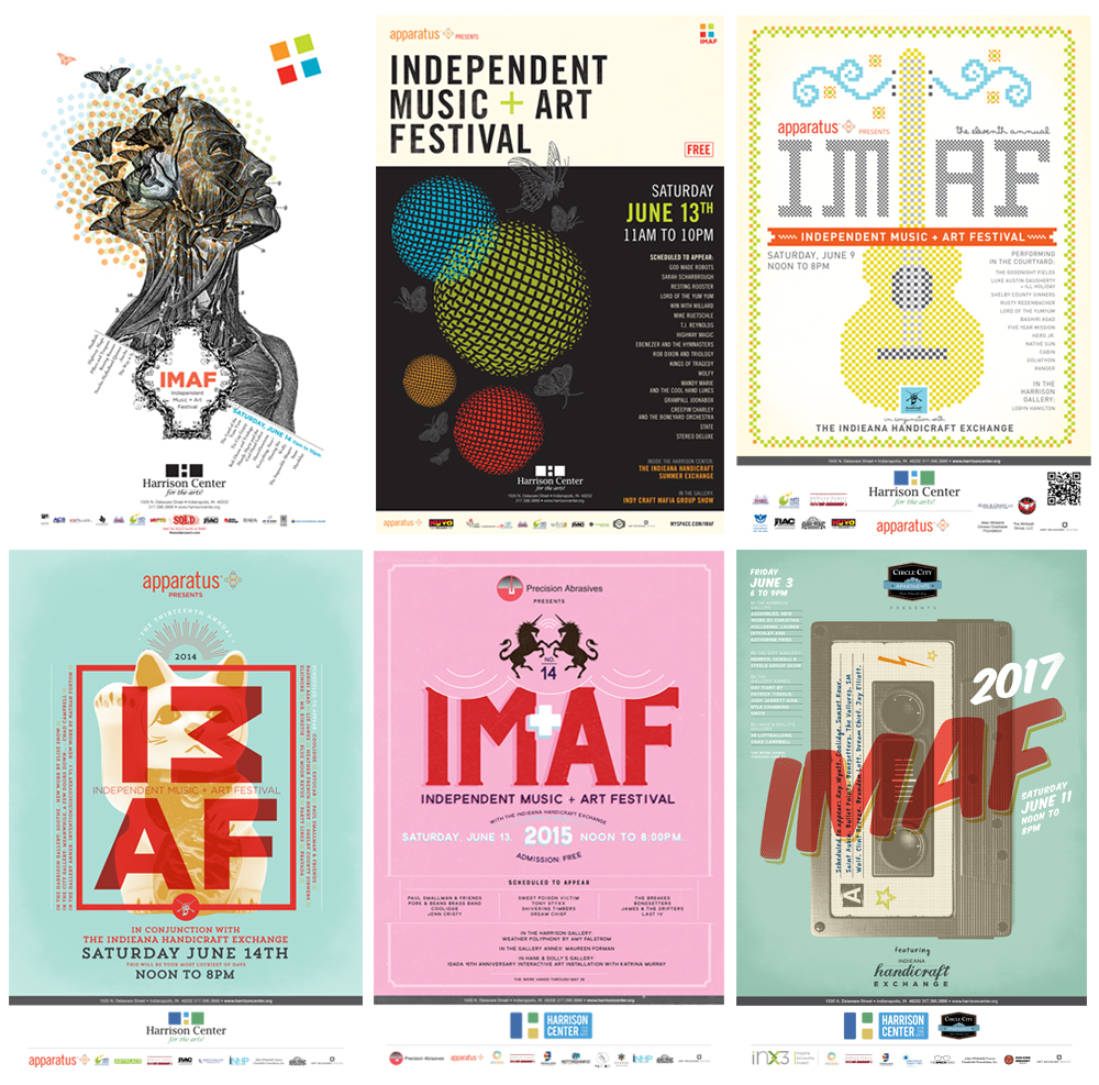 IMAF Posters - Matinee Creative