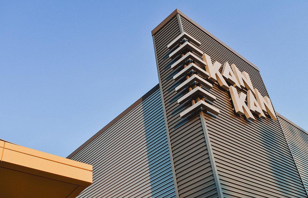 Kan-Kan Sign Closeup