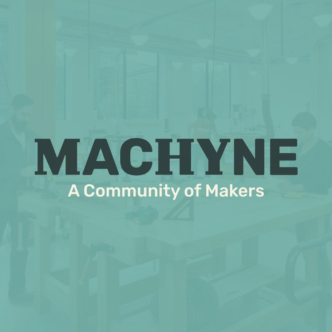 Machyne A Community of Makers Gray